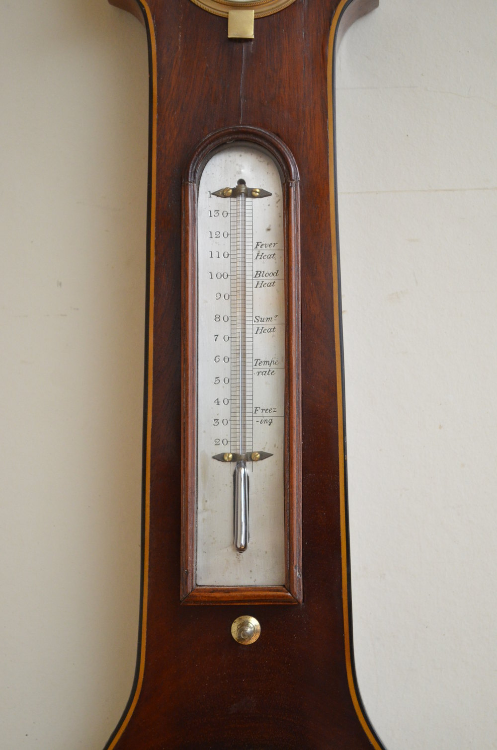Antiques Atlas William Iv Wheel Barometer By M Mchugh