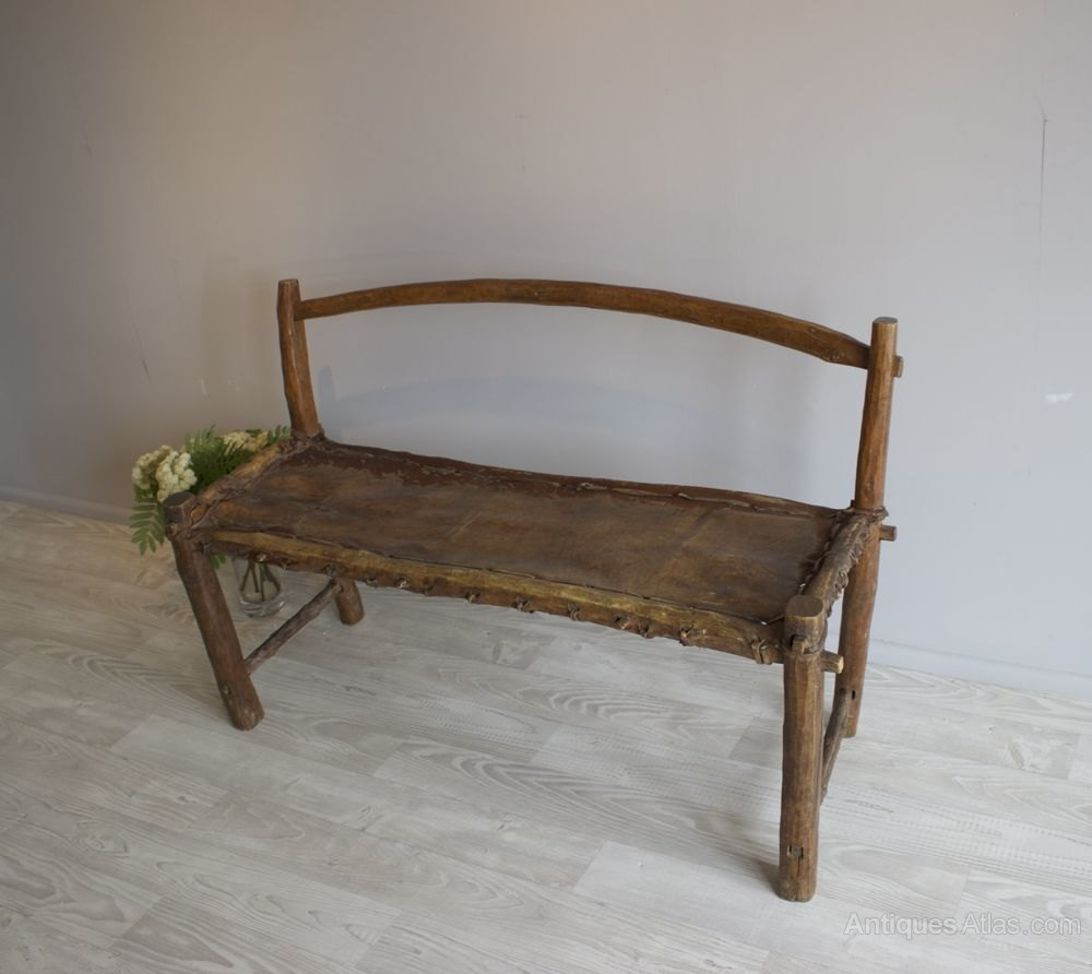 19th C Naive Hall Bench Antiques Atlas