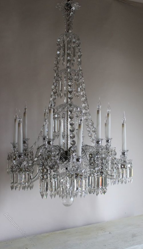 Antiques atlas antique chandelier by baccarat circa 1840 - Circa lighting chandeliers ...