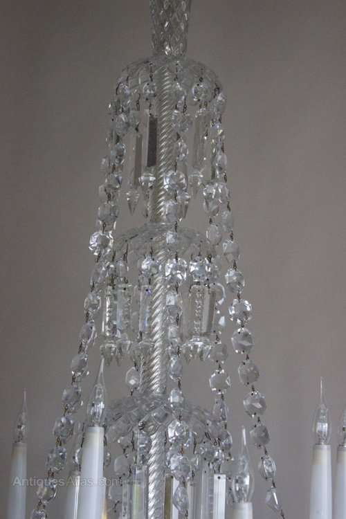 Antiques Atlas - Antique Chandelier By Baccarat Circa 1840
