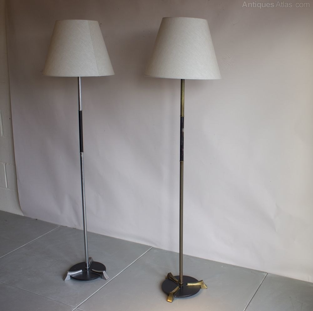 Antiques atlas near pair of 1950s floor lamps for 1950s floor lamps
