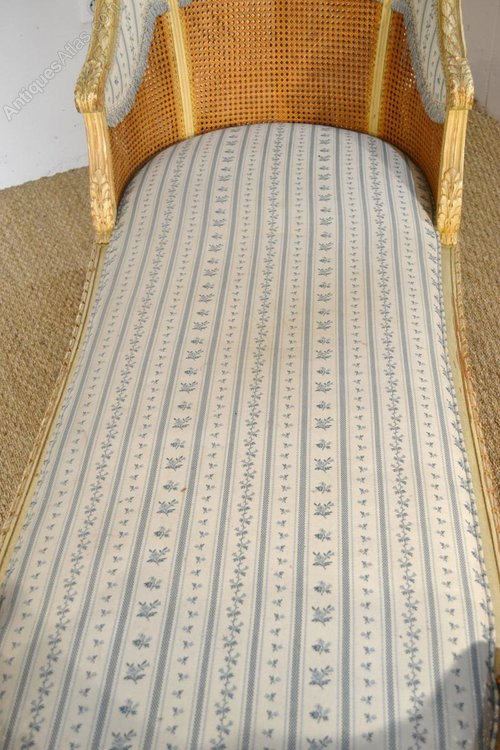 French louis xvi chaise longue antiques atlas for Chaise louis xvi