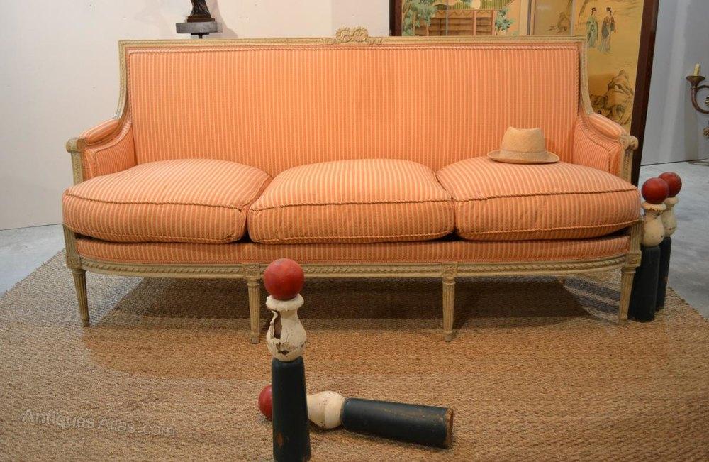 French sofa louis xvi style antiques atlas for Antikes sofa gebraucht