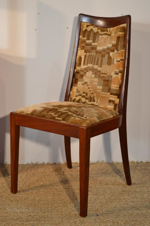 Antiques Atlas Set Of 6 Dining Chairs 50s 60s