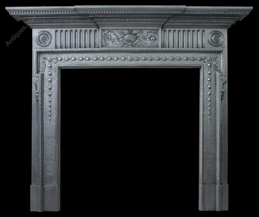 antiques atlas antique victorian neoclassical cast iron fireplace