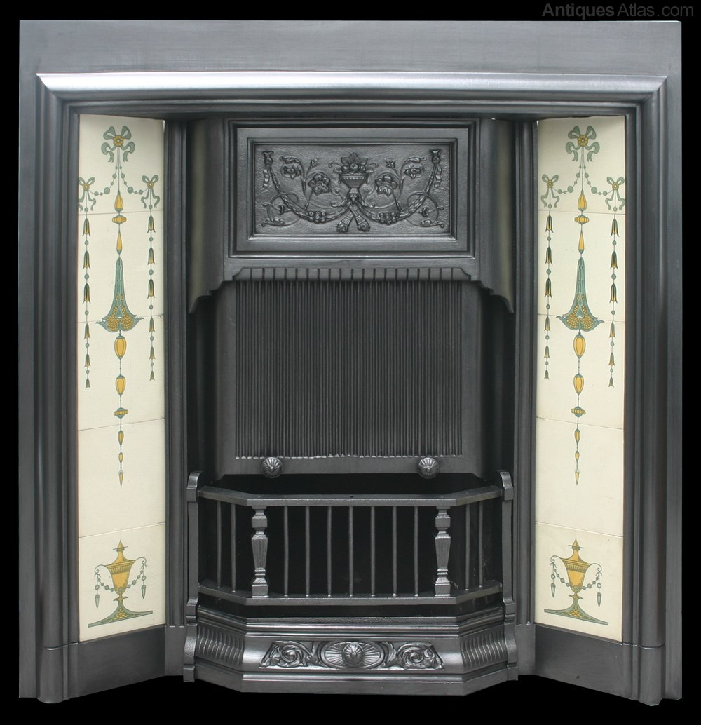 Image Result For Pictures Of Tiled Fireplace Surroundsa