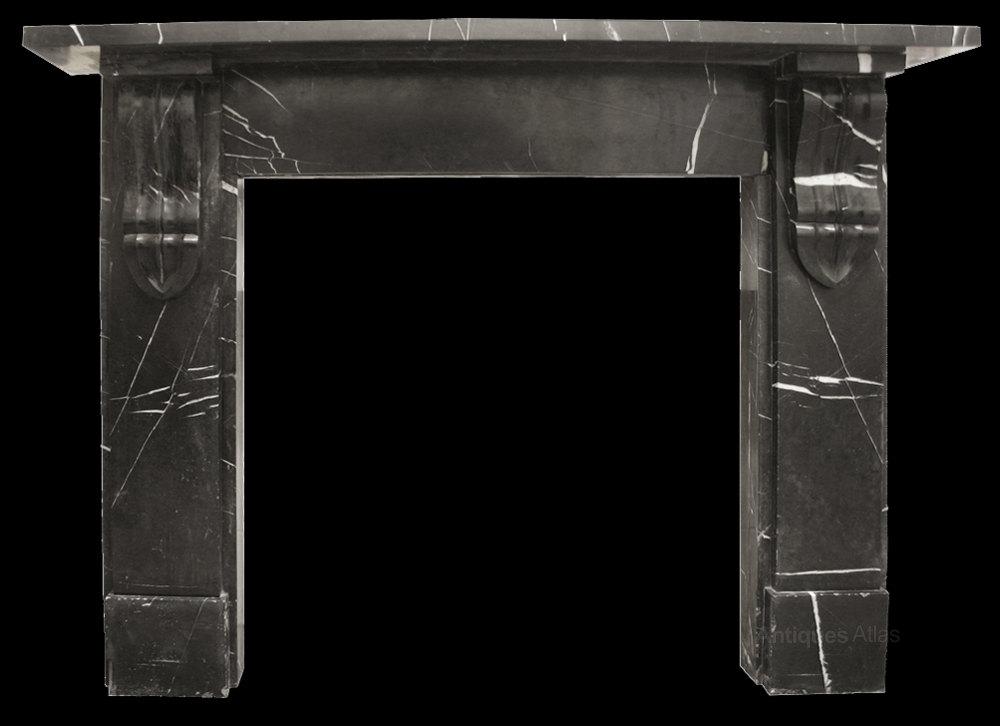 Antiques Atlas Victorian Black Marble Fireplace Surround