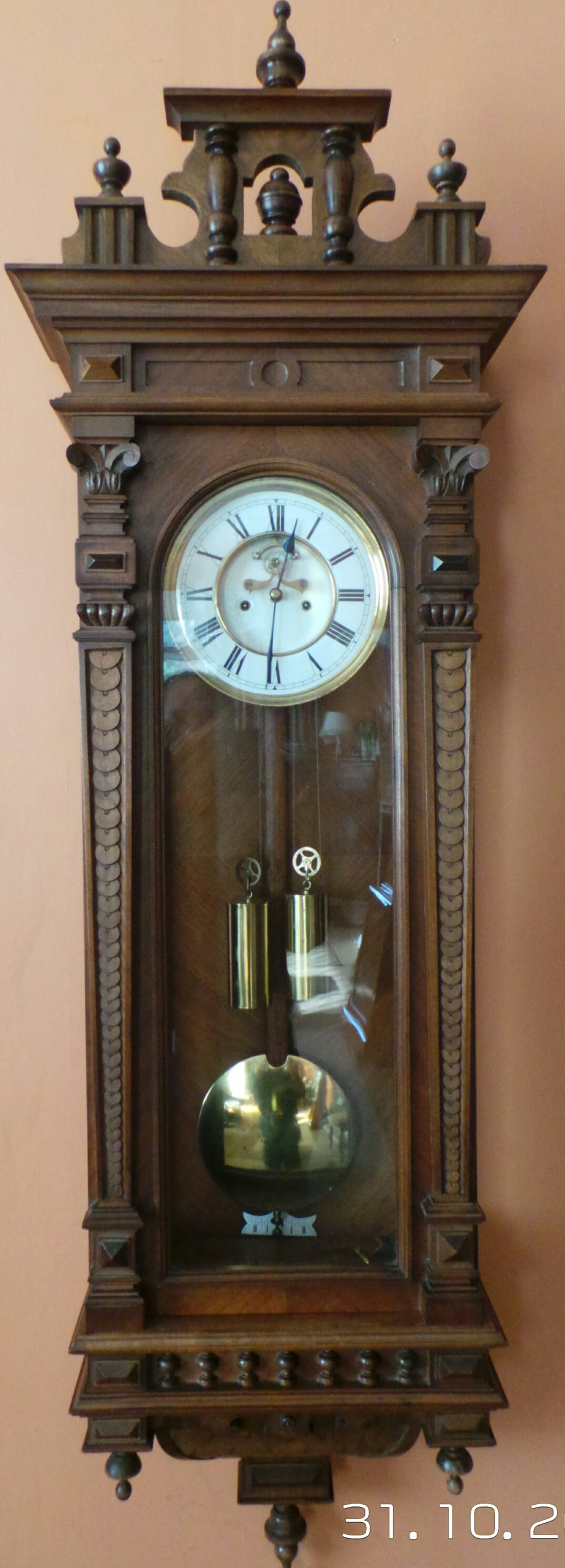 Antiques Atlas Vienna Regulator Wall Clock