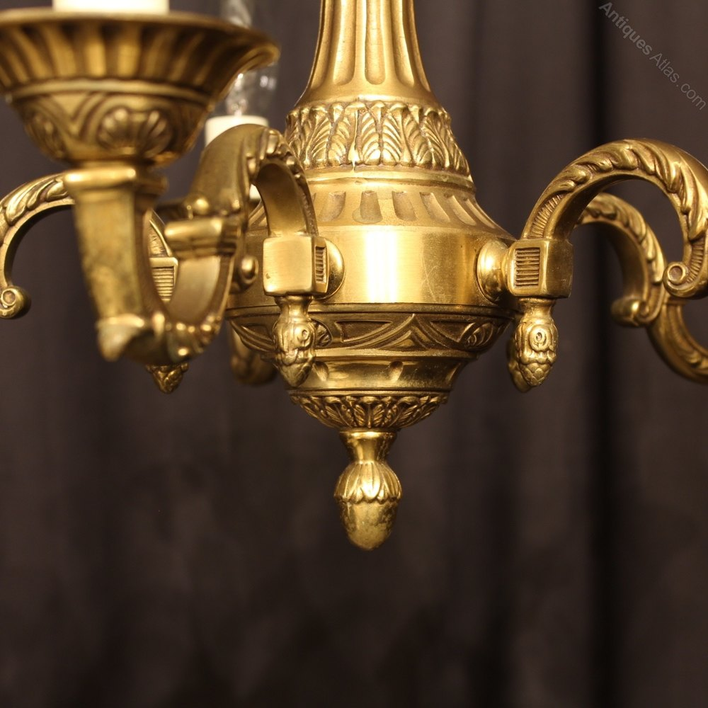 Antiques Atlas A Small French Bronze 5 Light Antique