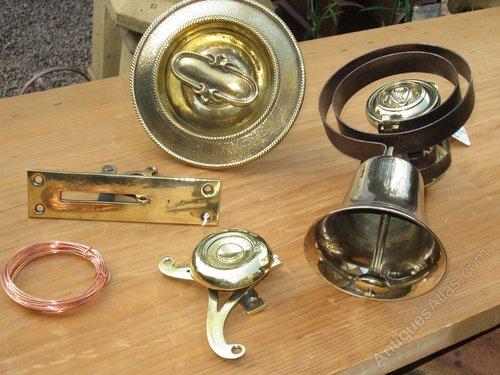 Antiques Atlas - Victorian Front Door Bell Pull System