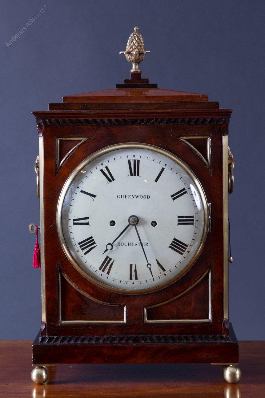 Antiques Atlas Regency Bracket Clock By Greenwood Rochester