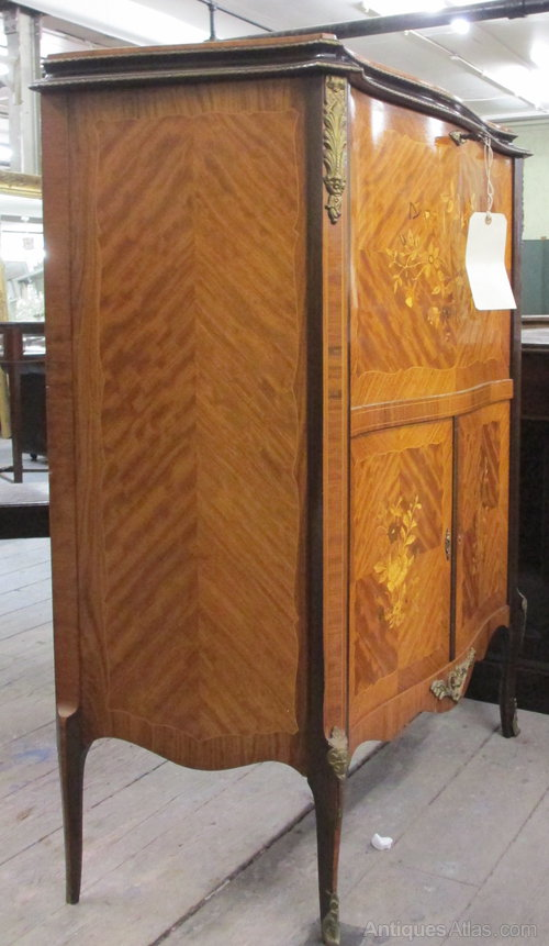 Antiques Atlas 1950 S Marquetry Cocktail Cabinet