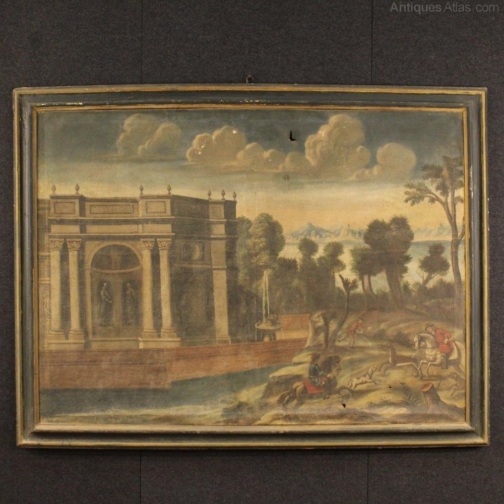 Antiques Atlas 18th Century Italian Painting Landscape