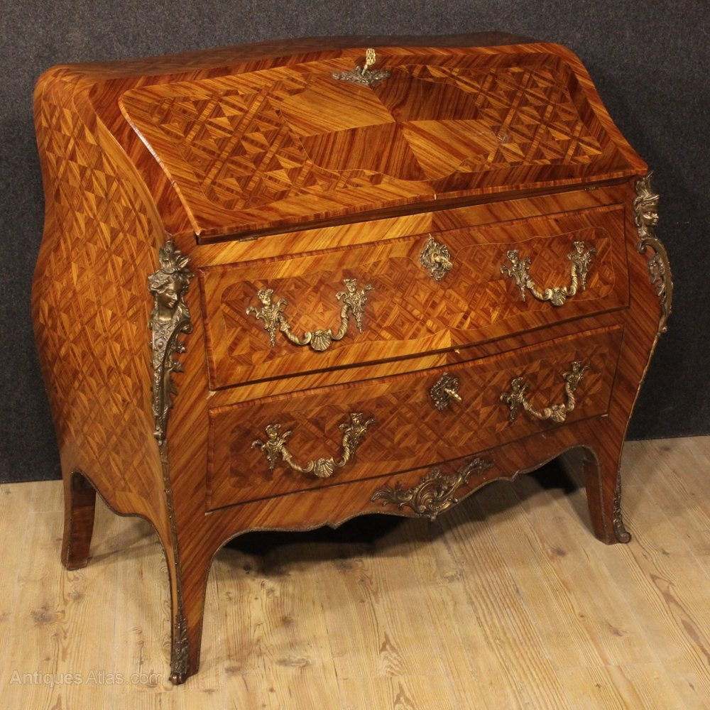 Antiques atlas 20th century french bureau in rosewood for Bureau french