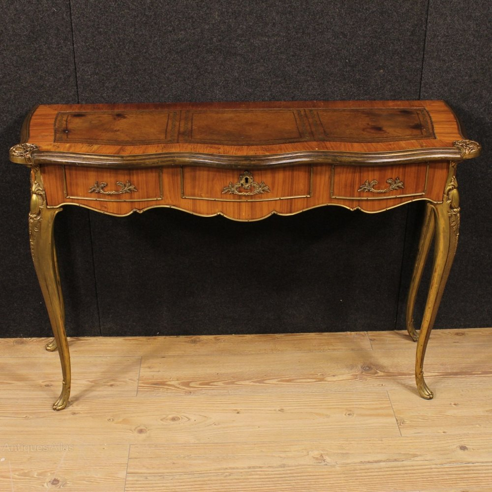 antiques atlas 20th century french console table in rosewood