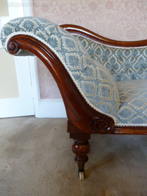 Victorian chaise lounge antiques atlas for Antique chaise lounge prices