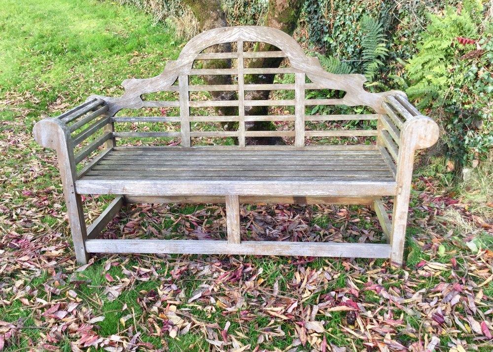Antiques Atlas Lutyens Design Teak Garden Bench