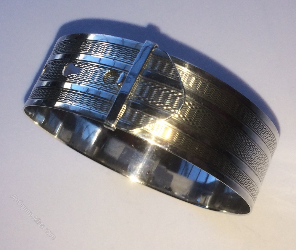 Antiques Atlas Charles Horner Silver Expandable Bangle C1944