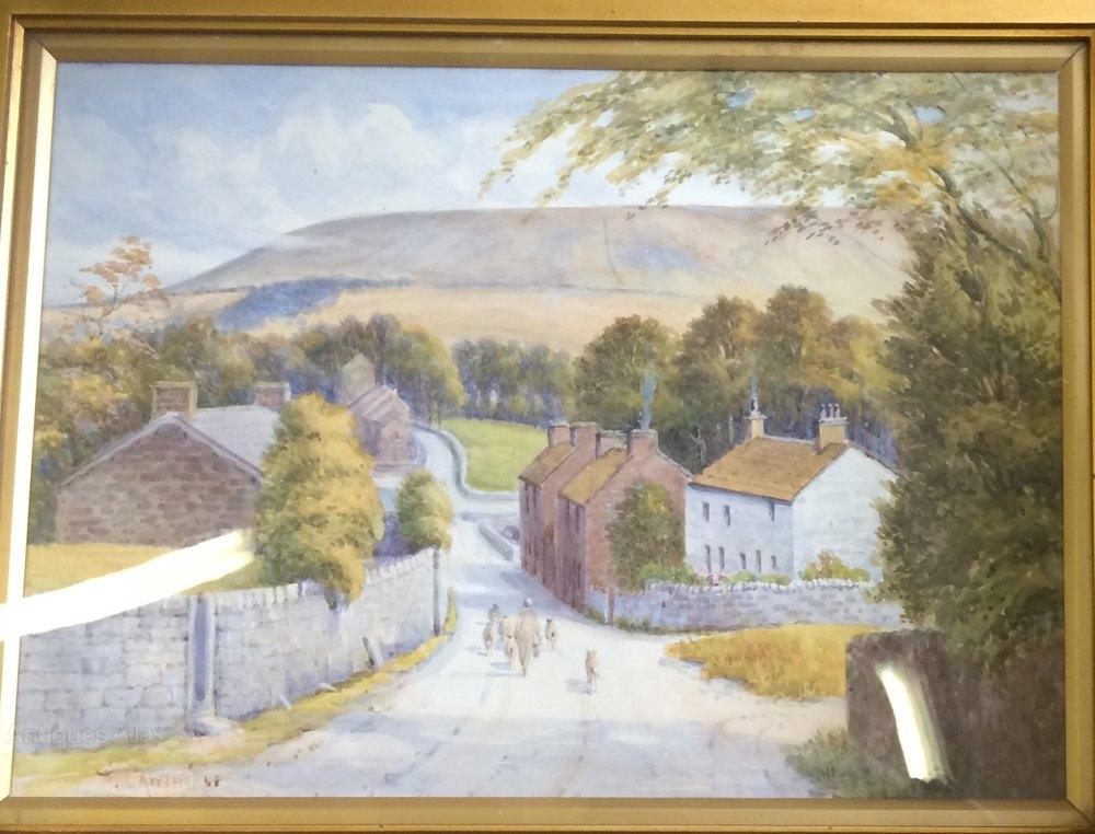Lancashire Oil Paintings