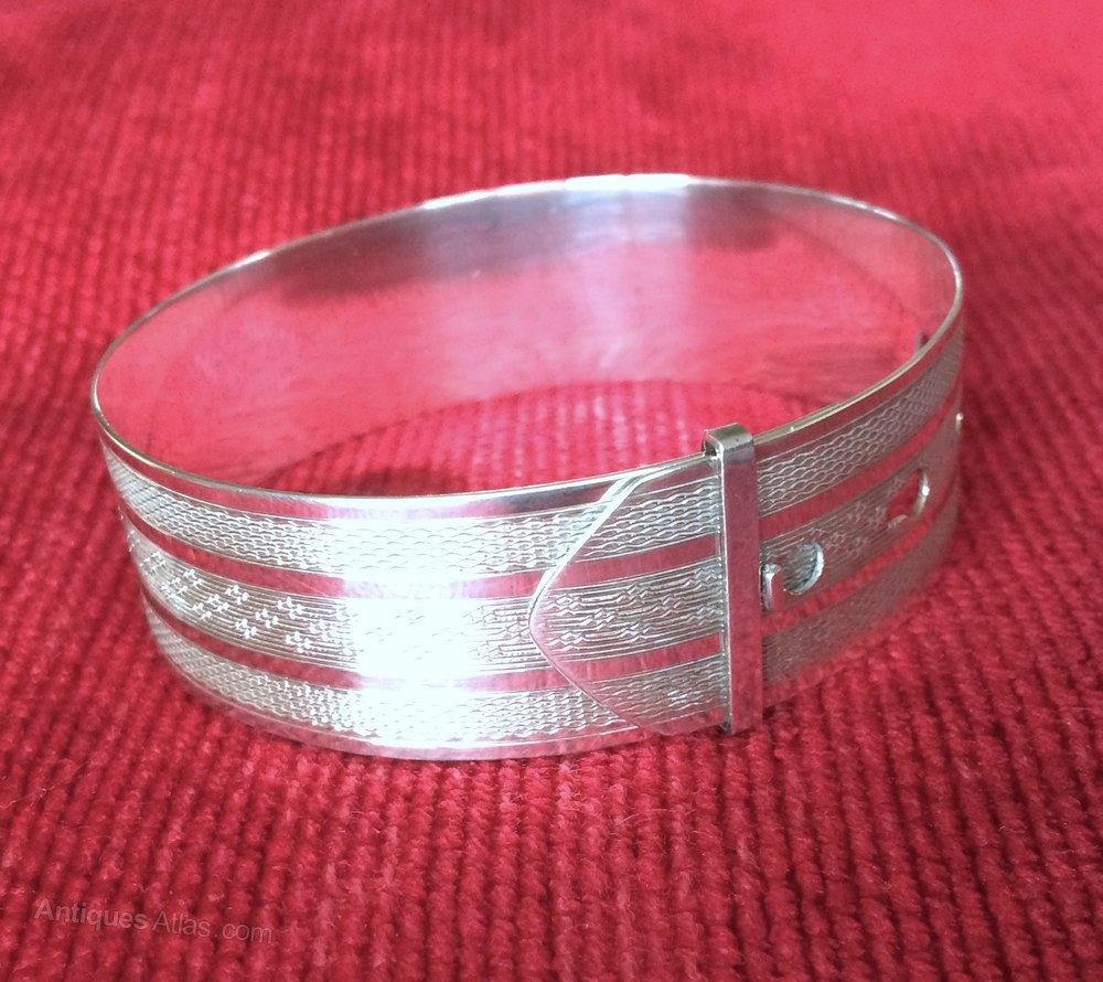 Antiques Atlas Ww2 Charles Horner Silver Bangle Chester