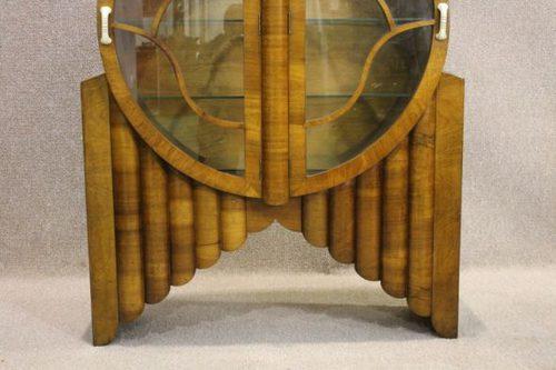 Art Deco Rocket China Cabinet Antiques Atlas