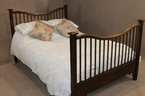Arts And Crafts Double Bed