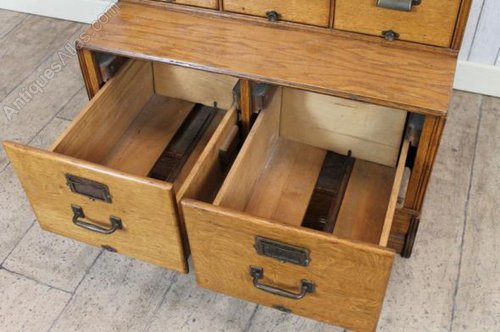 Edwardian Filing Cabinet Yawman And Erbe - Antiques Atlas