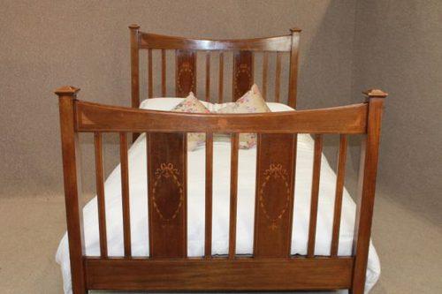 edwardian mahogany bedroom furniture. edwardian inlaid mahogany bed bedroom furniture