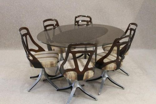 Antiques atlas retro dining table and chairs - Retro dining room chairs ...