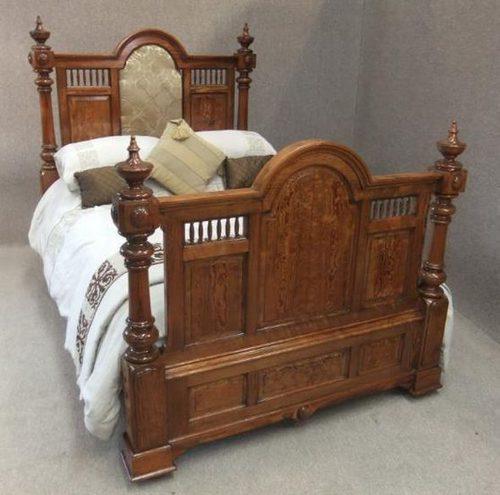 Six piece gothic victorian bedroom suite antiques atlas for Vintage bedroom suite