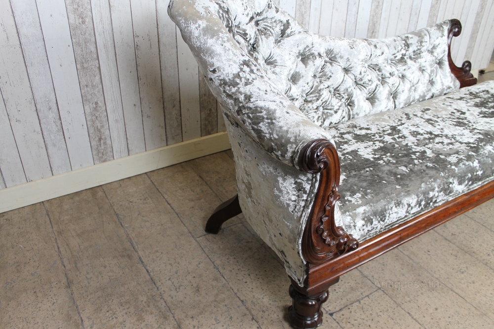 Victorian chaise longue antiques atlas for Antique chaise for sale