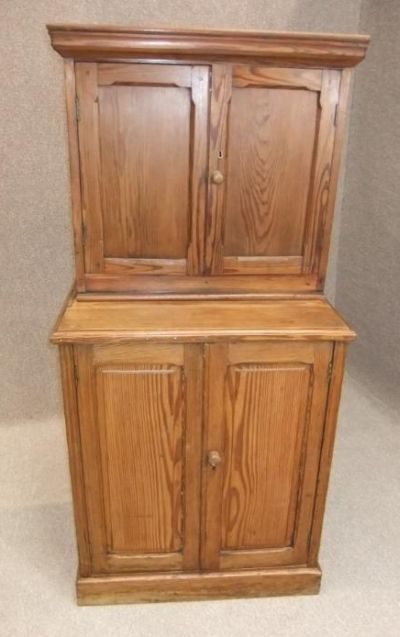 Victorian Pine School Cupboard Antiques Atlas