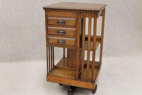 Victorian Revolving Bookcase