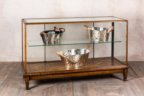 Photos. Vintage Shop Display Cabinet With Wooden Frame Antique Shop Display  Cabinets ... - Vintage Shop Display Cabinet With Wooden Frame - Antiques Atlas