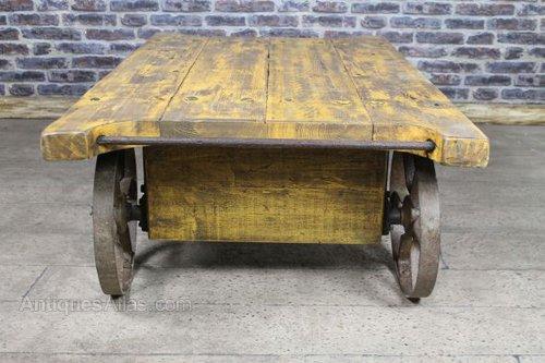 Vintage Trolley Coffee Table Vintage Trolleys ...