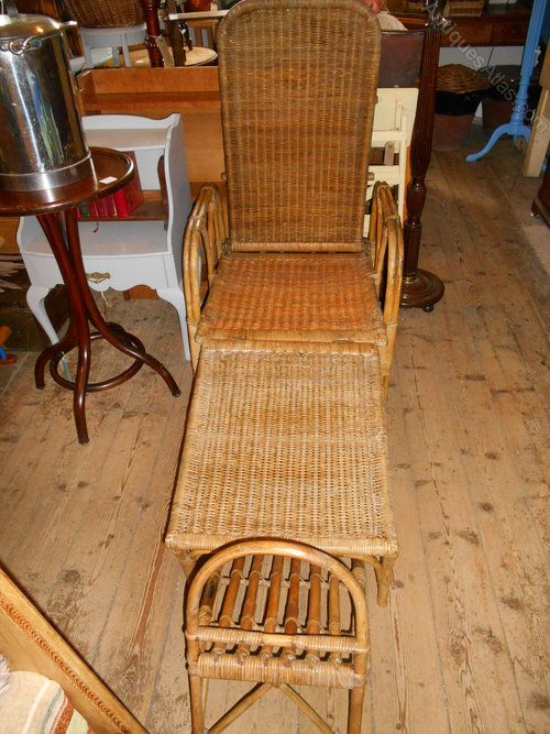 Arts Crafts Movement 39 Dryad 39 Rattan Lounger Antiques Atlas