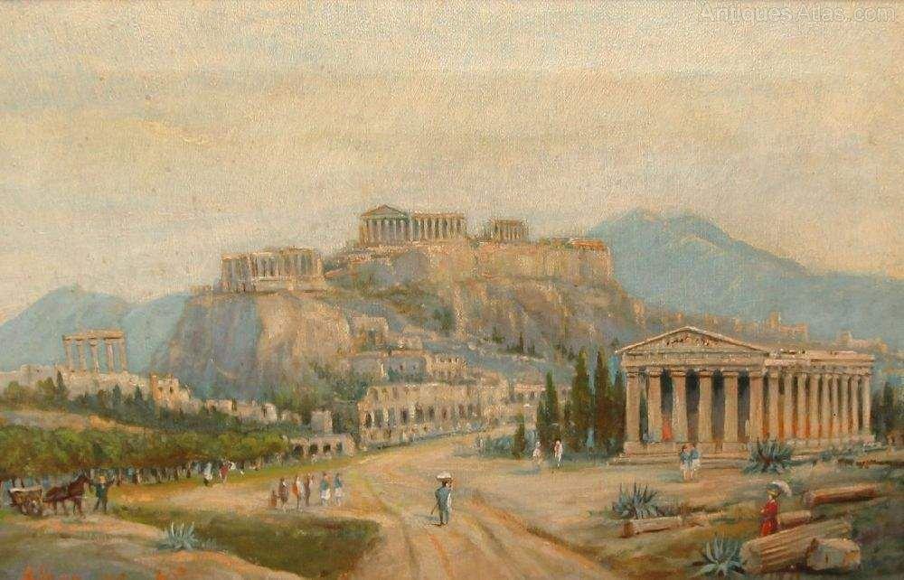 Greek Paintings For Sale