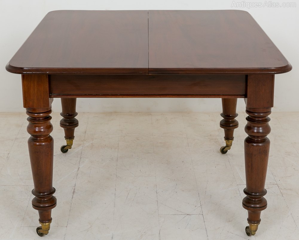 Mid victorian mahogany extending dining table antiques atlas for 144 dining table