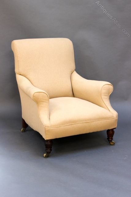 19thc. Howard Style Armchair - Antiques Atlas