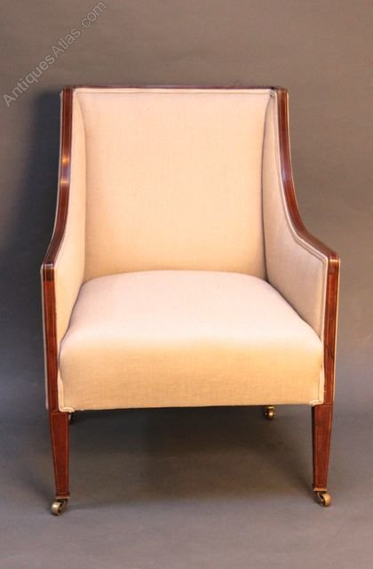 Edwardian Mahogany Armchair Antiques Atlas