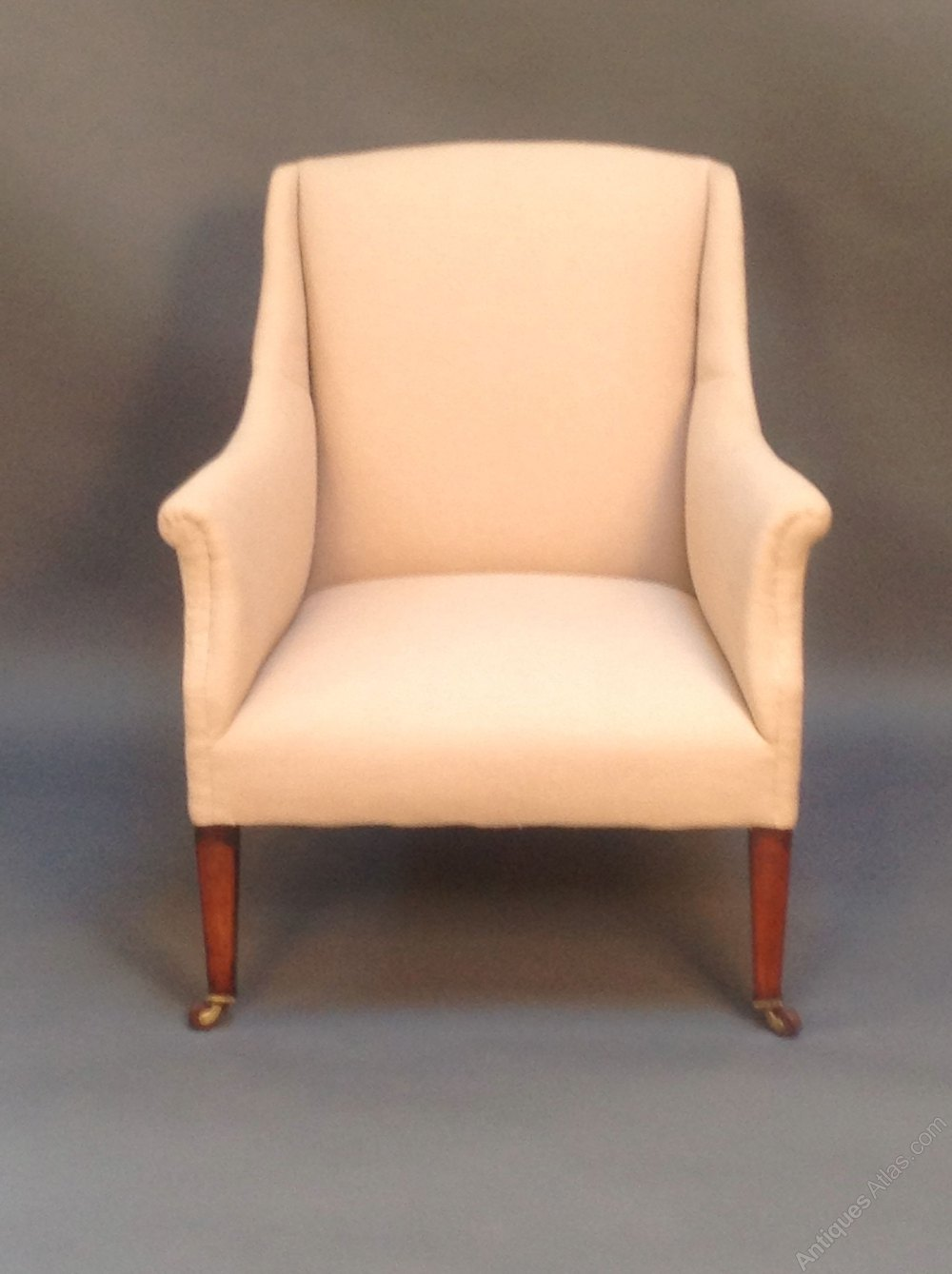 Late 19thc Mahogany Armchair Antiques Atlas