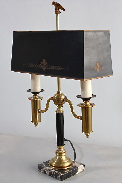 Antiques Atlas 1950 S T 244 Le And Brass Table Lamp
