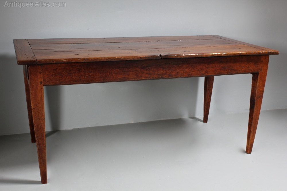 19th Century Oak Farmhouse Table Antiques Atlas