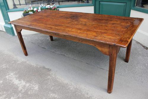 19th Century Pine Farmhouse Table ...