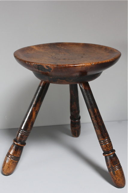 19th Century Welsh 3 Legged Stool Antiques Atlas