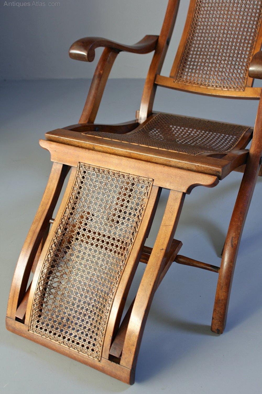 Antique Folding Steamer Deck Chair T658 Antiques Atlas