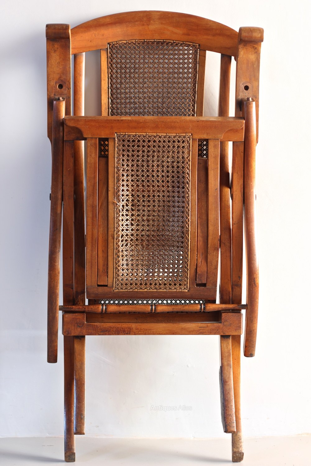 Antique Folding Steamer Deck Chair T658 Antiques Atlas