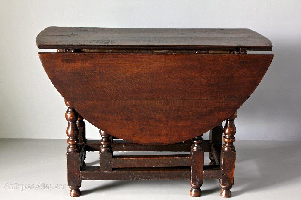 Antique Oak Gateleg Table Antiques Atlas