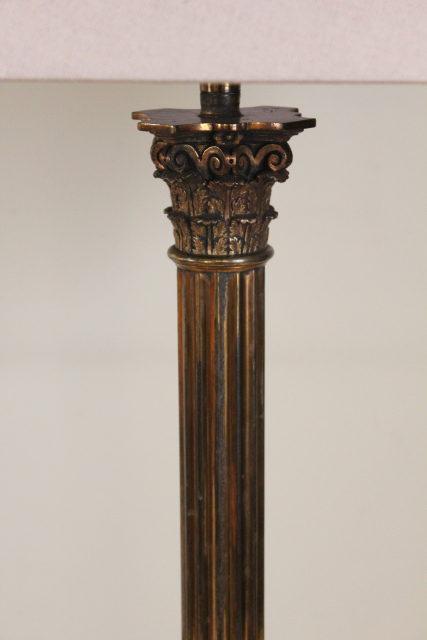 Antiques Atlas Corinthian Column Table Lamp