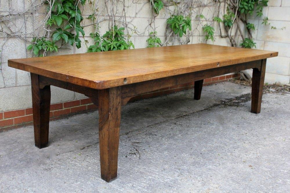Large Antique Oak Dining Table Antiques Atlas